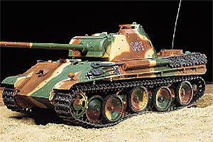 R/C 1/16 Panther G with Full Optn Kit LTD