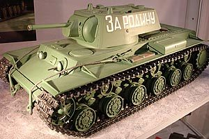R/C Russian KV-1 with full options