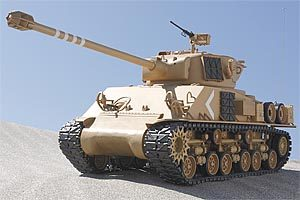 R/C M51 Super Sherman full option