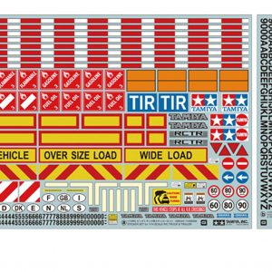 1/14 TRACTOR TRUCK / TRAILER STICKER