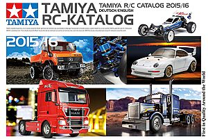 Tamiya RC Catalogue 2015 / 2016