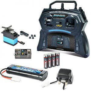 TAMIYA R/C STARTER SET inc radio battery chgr