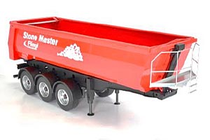 STONE MASTER METAL TIPPER TRAILER