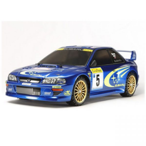 RC Subaru Impreza rally car - TT-02
