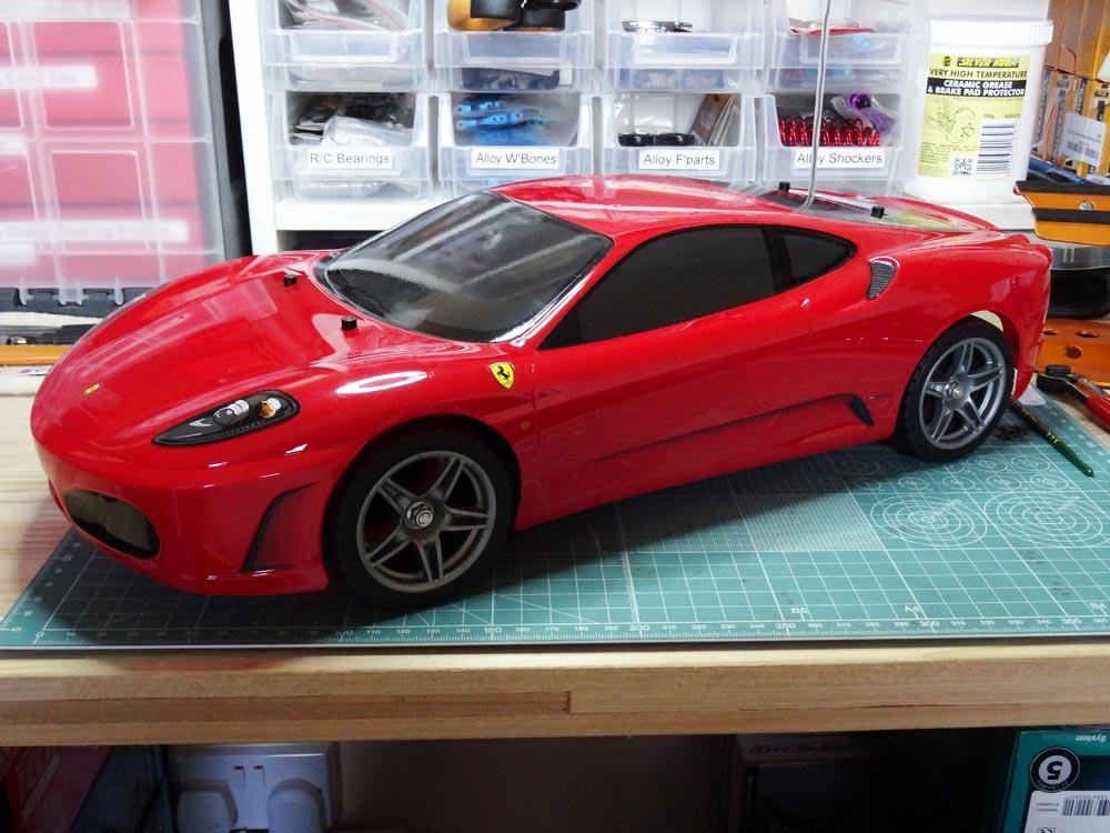 Ferrari F430 - Scale Model